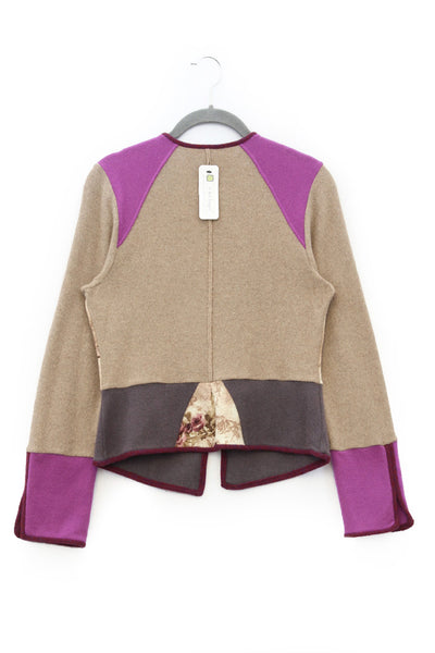 Veronica VE0015 Camel Rose w/ Berry Purple - Small