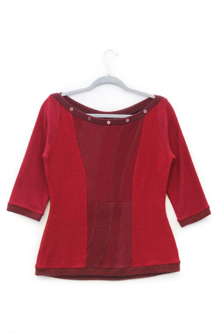 Betty Sweater Red - Large
