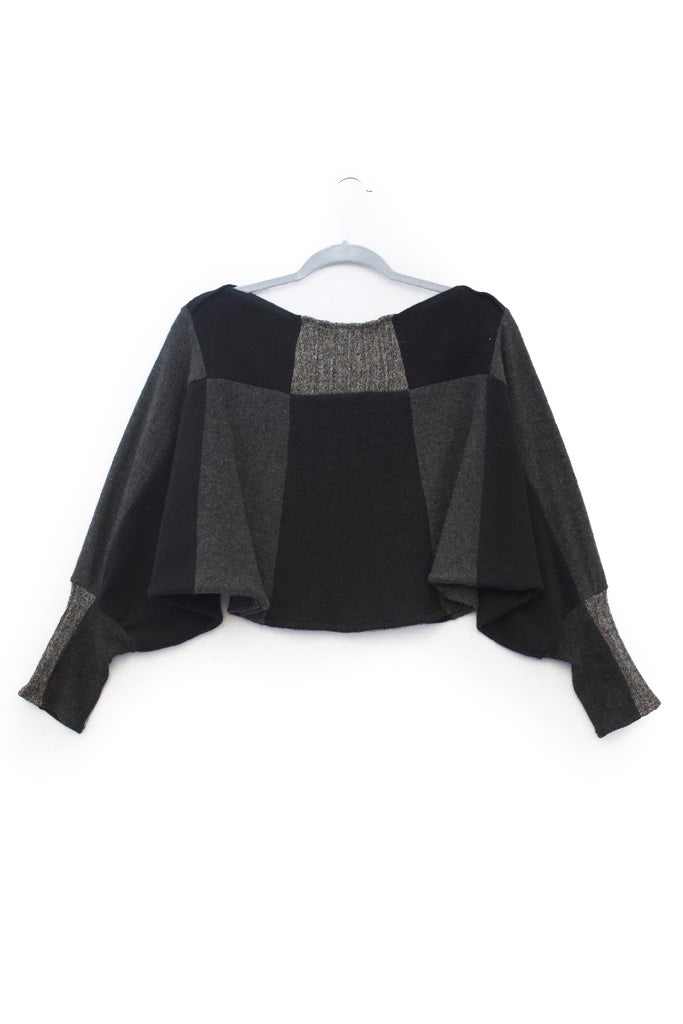Butterfly Black & Charcoal Grey - X-Small