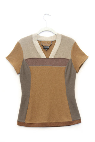 Pepper Sweater Brown & Camel - Medium