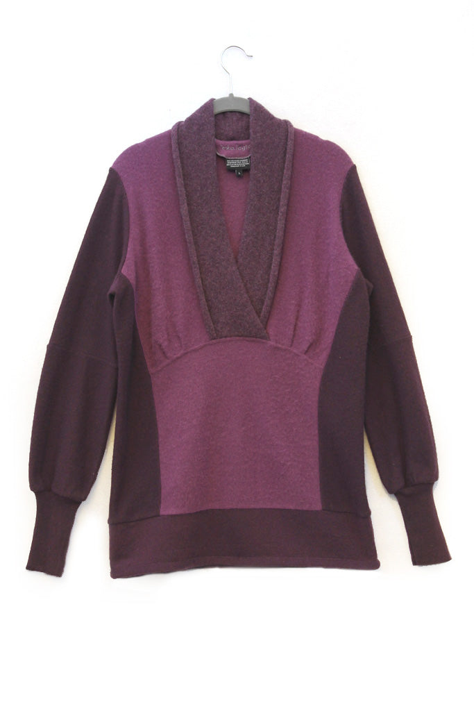 Coco Sweater Purple - Large