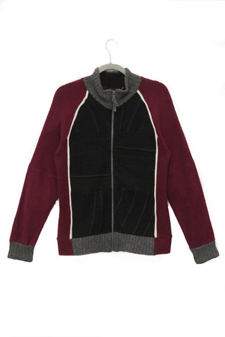 Jackson Black & Burgundy - Small