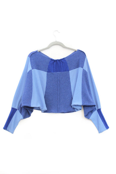 Butterfly Sweater Blue - Large
