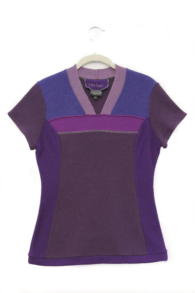 Pepper Sweater Purple - Medium