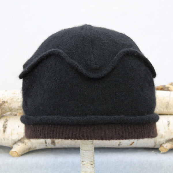 Gazebo Hat GZ9074 Black w/ Chocolate Brown