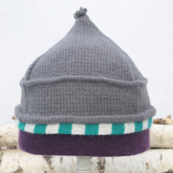 Onion Hat ON8194 Grey w/ Teal Green, Purple
