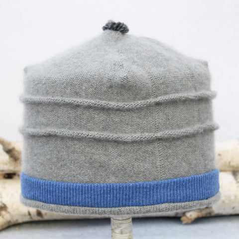 Saturn Hat S9032 Grey w/ Cornflower Blue