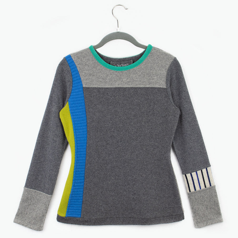 Trixie TR0021 Grey w/ Blue, Green - Small
