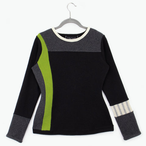 Trixie TR0027 Black w/ Green - Medium