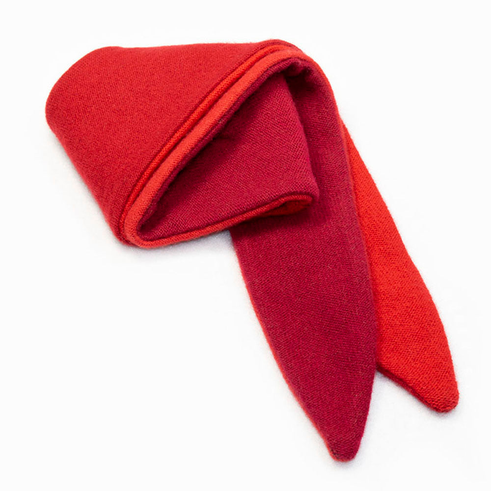 Twist Scarf TS0019 Red