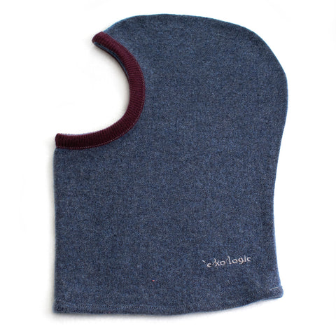 Balaclava BA0043 Blue w/ Burgundy - Large