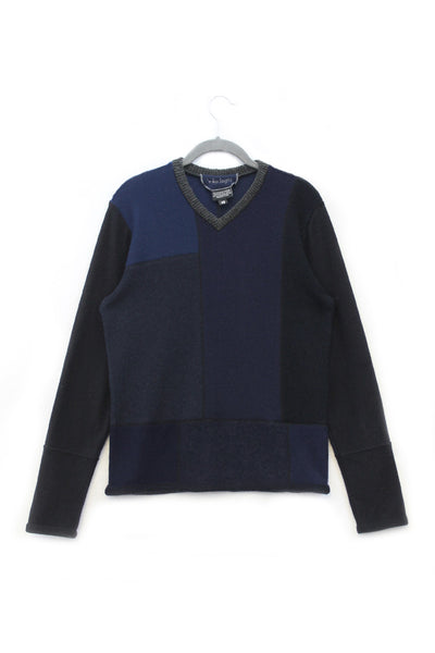 Mondrian Sweater Blue - X-Small