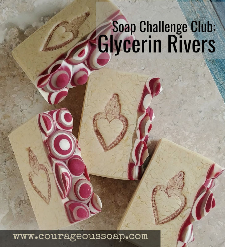 Soap Challenge: Glycerin Rivers