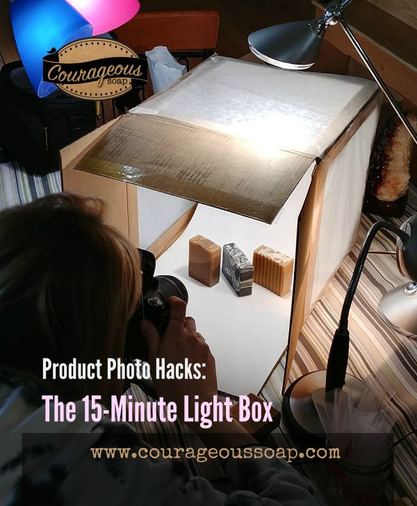 Product Photo Hacks: The 15-minute Light Box