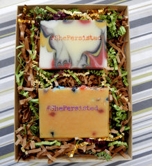 #ShePersisted Gift Set interior