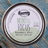 MINTal FOCUS Rosemary Mint Solid Lotion