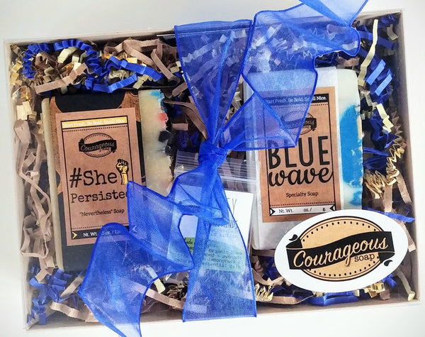 BLUE WAVE and #ShePersisted Gift Sets