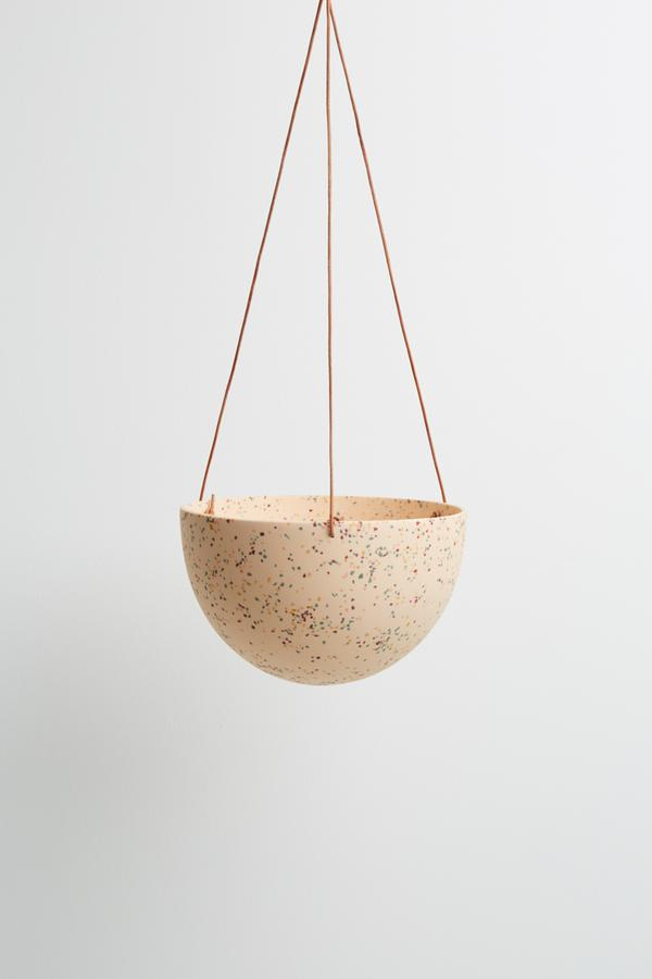 Terrazzo Hanging Planter Collection