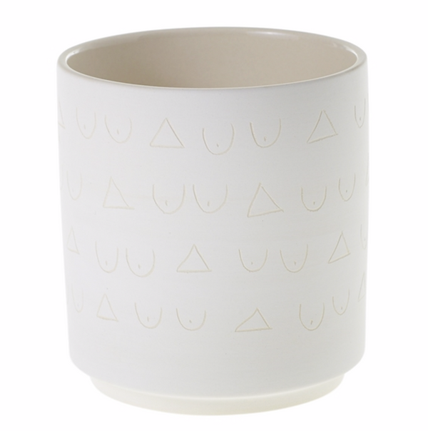 Triangles & Tatas Planter Collection
