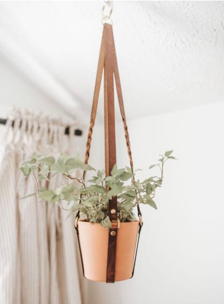 Espacio Leather Plant Sling - Lexington Curbside