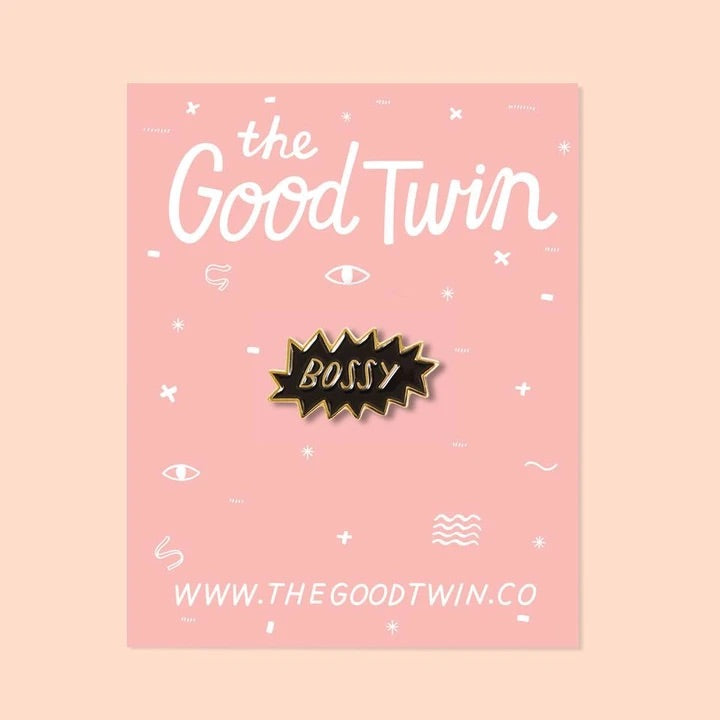 The Good Twin Pin