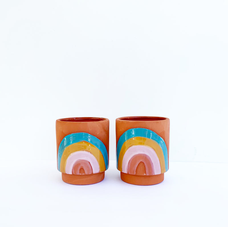 "3"" Rainbow Planter Collection  by Luna Reece"