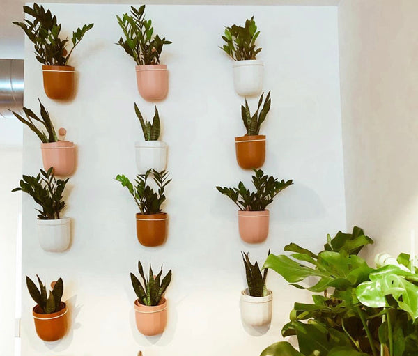 Loop Hanging Planter Collection by Wally Gro