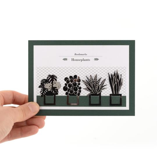 Houseplant Bookmark Collection