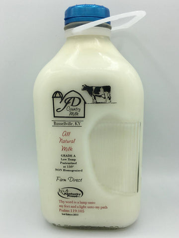 2% Milk - Half Gallon (includes $3 jug deposit)