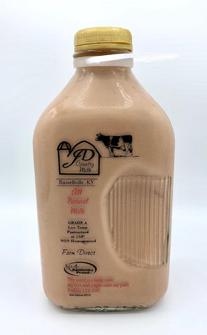 Chocolate Milk - Half Gallon (includes $3 jug deposit)