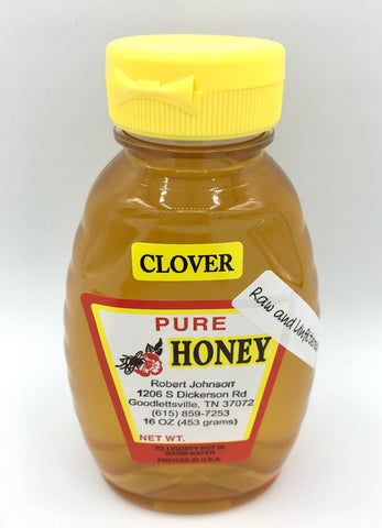 Clover Honey - 16oz.