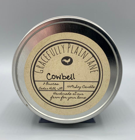 Cowbell - 8 oz. Candle