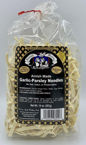 Garlic-Parsley Noodles