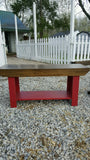 Bench with Shelf - multiple colors in stock