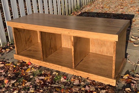 Large Cubby Bench