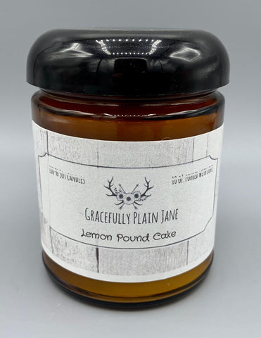 Lemon Pound Cake - 10 oz. Candle