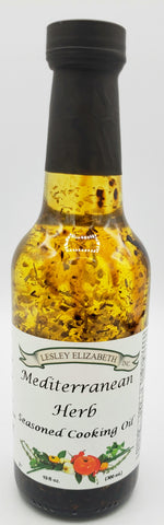 Mediterranean Herb Seasoned Cooking Oil