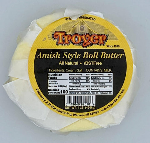 Amish Roll Butter - 16 oz.