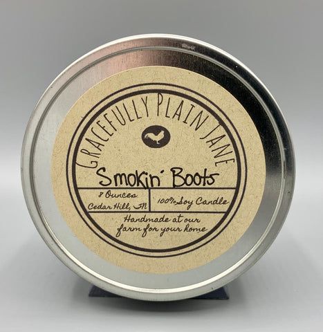 Smokin Boots - 8 oz. Candle