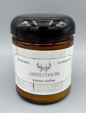Vanilla Coffee - 10 oz. Candle