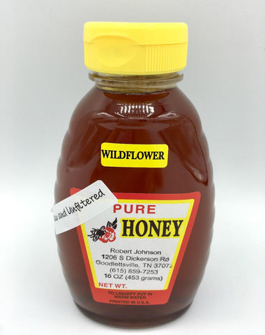 Wildflower Honey - 16oz.