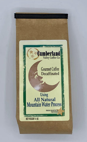 DECAF Colombian Coffee - 8oz. Ground