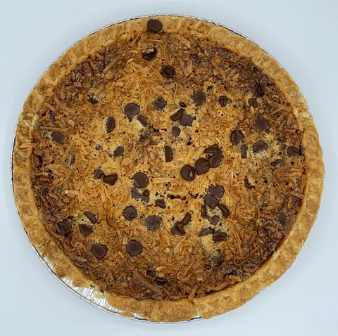 Deluxe Pecan Pie - with Coconut & Chocolate Chips