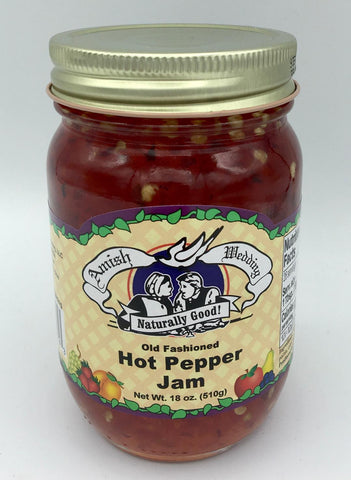 Hot Pepper Jam - 18 oz.