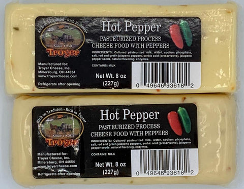 Hot Pepper Cheese - Shelf Stable