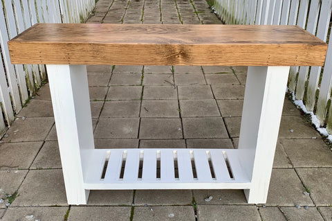 Sofa Table in White