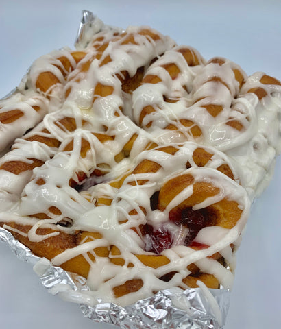 Cherry-Filled Sweet Rolls