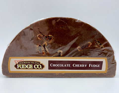 Chocolate Cherry Fudge