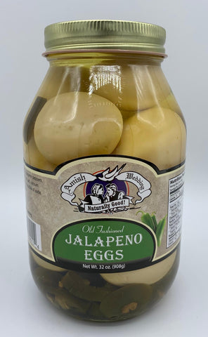 Pickled Jalapeno Eggs