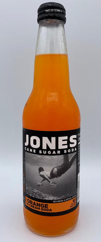 Jones Orange Soda - Glass Bottle Single Serve